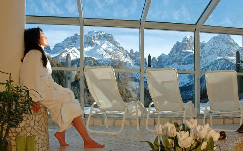 Foto e immagini trentino alto adige hotels photogallery - Piscina panoramica valdaora ...