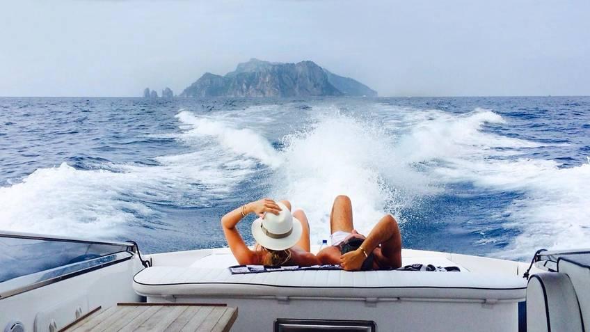 Tecnomar Boat Capri Excursions by sea Capri