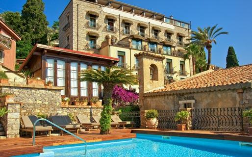 Hotel Villa Carlotta 4 Star Hotels Taormina