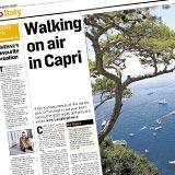 The Irish Times - Walking on air in Capri