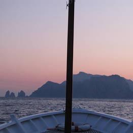 Giro in barca al tramonto per due