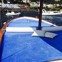 Half day tour by private gozzo around the Isle of Capri