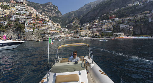 Lucibello  -  Boat Tour of the Amalfi Coast - half day- Rubber