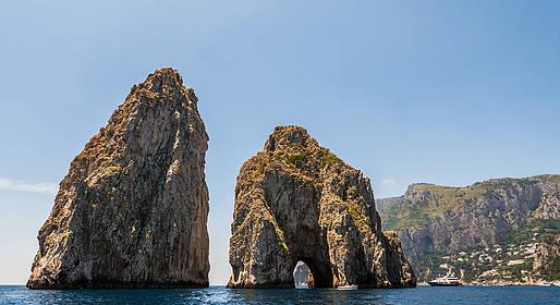Lucibello  - Capri Boat Tour - Half Day - Rubber