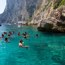 Shared Boat Tour from Positano to Capri
