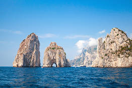 Plaghia Charter - Luxury Boat Tour of Capri by Itama 38 Boat