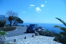 Astarita Car Service - Private Transfer from Rome to Positano 5 people