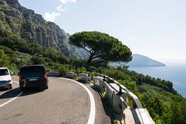Astarita Car Service - Private Tour from Positano to the Amalfi Coast for 4