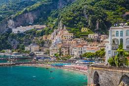 Astarita Car Service - Private Tour from Positano to the Amalfi Coast for 6