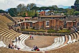 Astarita Car Service - Private Tour from Positano to Pompeii for 4