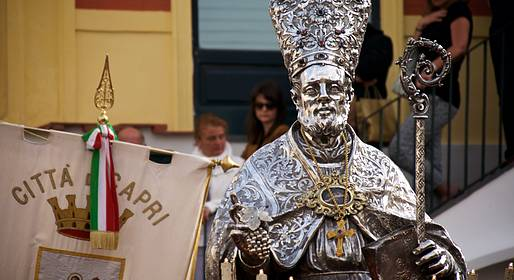 Capri Online - Procession for the Feast Day of San Costanzo