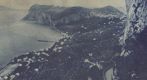 Caprionline - Alberghi storici di Anacapri all'alba del '900