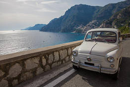 NapolinVespa Tour - FIAT 500/600 tour na Costa Amalfitana
