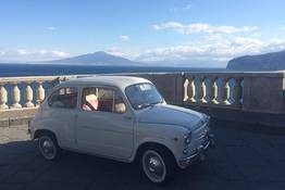 NapolinVespa Tour - Amalfi Coast FIAT 500/600 Tour -departure from Sorrento