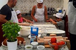 Michel'angelo - Aula de culinária