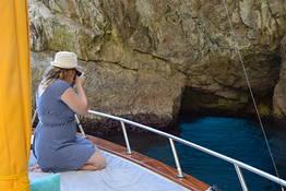 Gianni's Boat - THE DIVINE:  2.15 hour tour of Capri island
