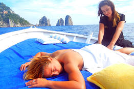 Gianni's Boat - Boat Tour with couple massage on board