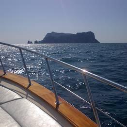 Tour con super-gozzo da Positano a Capri