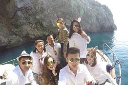 Gianni's Boat - Full day GROUP TOUR to Capri from Sorrento Mid Season