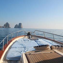 Half Day around Capri with typical gozzo.