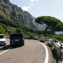 Sorrento Car Service - One way transfer from Naples to Sorrento and vice versa