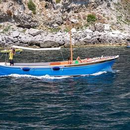 "Capri Blue Boats - Full day along the Amalfi Coast in a ""gozzo"""