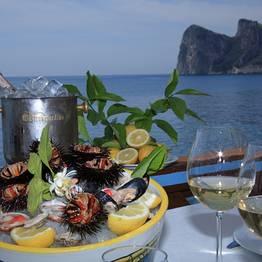 Fabulous lunch in Nerano fisherman bay