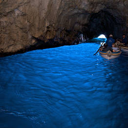 Boat Tour of Capri with a Blue Grotto Stop: Yellow Line