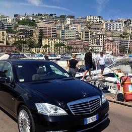 """Private transfer """"from Rome to your hotel in Capri"""""""
