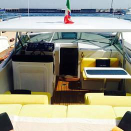 Car + speedboat + taxi from Rome to Capri | VIP