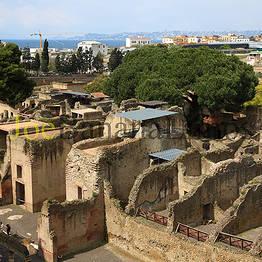 Pompeii & Herculaneum Stop + Transfer to Sorrento