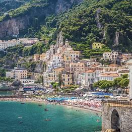 Transfer de Roma a Praiano, Amalfi, Ravello ou retorno