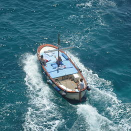 Water taxi per la Fontelina da Marina Grande