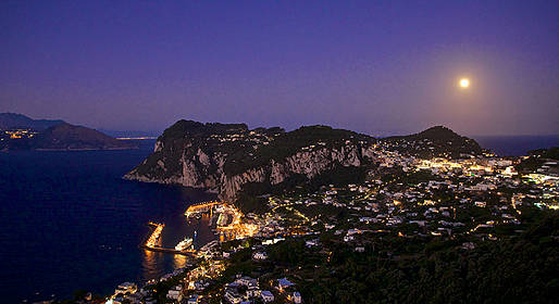 Blue Sea Capri - Tour notturno a Nerano