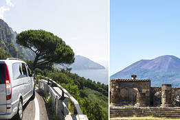 Joe Banana Limos - Tour & Transfer - Transfer from Napoli to Praiano or viceversa + Pompeii