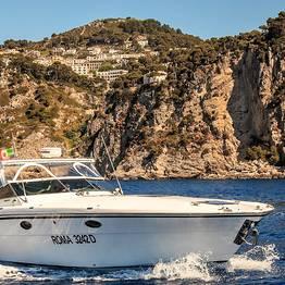 """Capri Relax Boats - Intera giornata a Capri in motoscafo """"Itama 38"""" (12 mt)"""