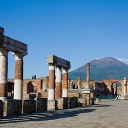 Tour Pompei e Vesuvio a bordo di un bus GT da Positano
