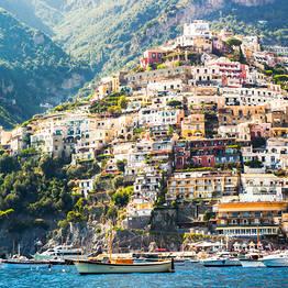 Roundtrip transfer from Rome to Positano