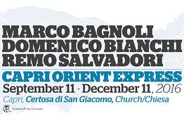 Caprionline - Marco Bagnoli, Domenico Bianchi e Remo Salvadori