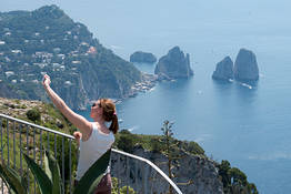 Capri Official Guides - Reach the Peak of Mount Solaro - Group Guided Hike