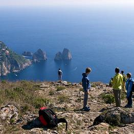 Group guided Hike to Mount Solaro - thursday