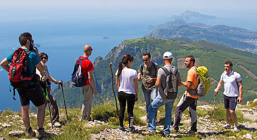 Cartotrekking - Faito Mountain, the highest peak of Amalfi Coast