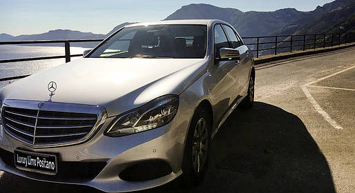 Luxury Limo Positano - Transfer from Rome to Positano and/or return