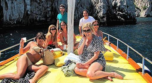 Amalfi & Positano Boat Tours - GROUP TOUR to Capri from Sorrento 7 Hours HIGH SEASON
