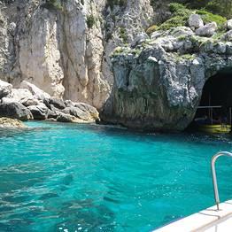 Water taxi Capri-Amalfi Coast (or vice versa)