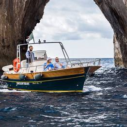Full Day Gozzo Boat Tour Amalfi Coast