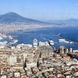 De Nápoles até a Costa Amalfitana + visita de Pompeia