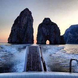 Capri Boat Service Luxury - Tour ao entardecer em lancha Itama38
