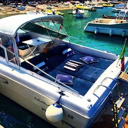 Escursione Capri - Positano su motoscafo luxury (7ore)