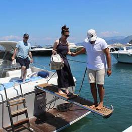 Transfer da Capri a Positano in motoscafo